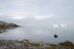 Dicht bij Narsaq (Groenland) stock afbeelding