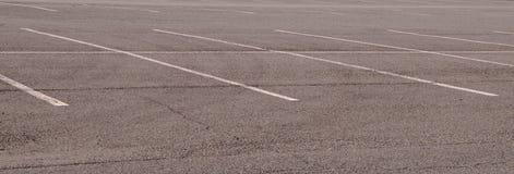 Dicht een omhoog geschoten van parkeerplaatsen in Royalty-vrije Stock Foto