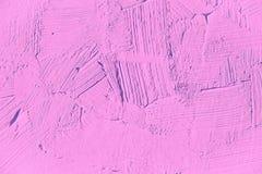 Dicht omhoog schilderend van lichtrose, fuchsiakleurig, kleur Stock Foto
