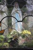 Dichtbij de stad van Monschau Stock Afbeeldingen