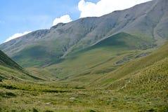 Dichtbij Elbrus Stock Fotografie