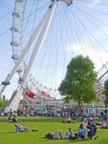 Dichtbij het Oog van Londen Royalty-vrije Stock Afbeelding