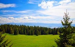 Dichtbij Liptovsky Mara in Slowakije Stock Fotografie