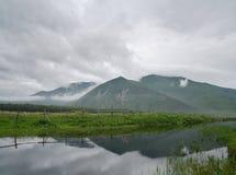 Dichtbij van rivier Kema stock foto's
