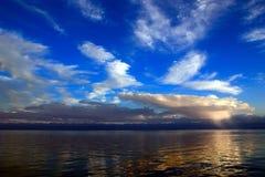 Dichtbij Zonsondergang Stock Foto's