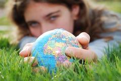 Dichtbije aarde royalty-vrije stock afbeeldingen