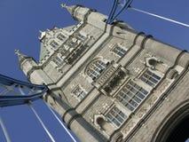 Dichte de Brug van de toren Royalty-vrije Stock Afbeeldingen