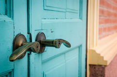 Dichte deur stock fotografie