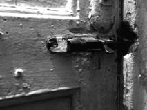 Dichte deur royalty-vrije stock foto's