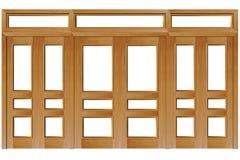 Dichte deuren vector illustratie
