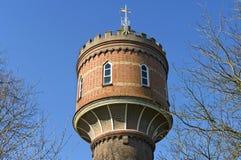 Dichte Historische watertoren Zaltbommel, Nederland Royalty-vrije Stock Fotografie
