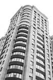 Dichte mening bij de residental bouw Stock Foto's