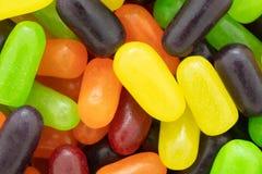 Dichte mening van kleurrijk taai suikersuikergoed royalty-vrije stock fotografie
