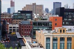 Dichte New- York Citygebäude Lizenzfreie Stockfotografie