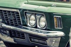1971 dichte omhooggaand van Buick Riviera Stock Afbeelding