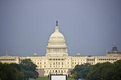 Dichte omhooggaand van Capitol Hill royalty-vrije stock foto's
