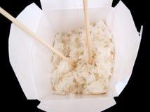 Dichte omhooggaand van Chinees voedsel neemt royalty-vrije stock afbeeldingen