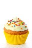 Dichte omhooggaand van Cupcake Royalty-vrije Stock Foto's