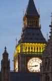 Dichte Omhooggaand van de Big Ben Royalty-vrije Stock Afbeeldingen