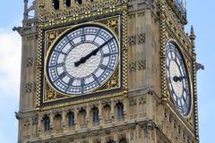 Dichte omhooggaand van de Big Ben Stock Foto's