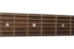 Dichte omhooggaand van de gitaar Royalty-vrije Stock Fotografie