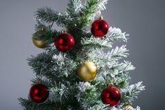 Dichte omhooggaand van de kerstboom Royalty-vrije Stock Afbeelding