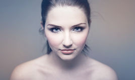 Dichte omhooggaand van de schoonheid Royalty-vrije Stock Foto's