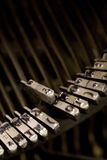 Dichte omhooggaand van de schrijfmachine Royalty-vrije Stock Fotografie