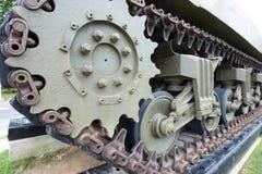 Dichte omhooggaand van de tank stock fotografie