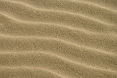 Dichte Omhooggaand van de textuur van Zand 1 Royalty-vrije Stock Afbeelding