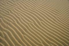 Dichte Omhooggaand van de textuur van Zand 3 Royalty-vrije Stock Foto