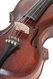 Dichte omhooggaand van de viool Stock Afbeelding