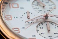 Dichte Omhooggaand van het horloge Royalty-vrije Stock Foto