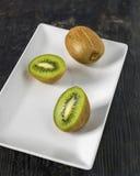 Dichte omhooggaand van het kiwifruit Stock Foto's
