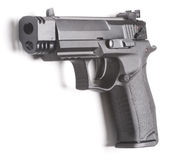 Dichte omhooggaand van het pistool stock afbeelding