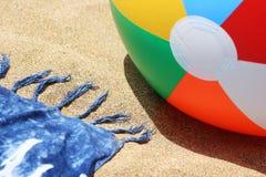 Dichte Omhooggaand van het strand Stock Afbeeldingen
