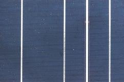 Dichte omhooggaand van het zonnecelpaneel Royalty-vrije Stock Afbeeldingen