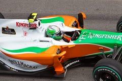 Dichte omhooggaand van Vitantonio bij Maleise F1 Stock Afbeelding