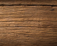 Dichte omhooggaande de textuurachtergrond van de aard donkere bruine houten vlek Royalty-vrije Stock Foto's