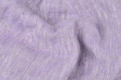 Dichte omhooggaande de textuurachtergrond van het linnen Royalty-vrije Stock Fotografie