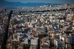 Dichter Bereich von Athen, Griechenland Stockfoto