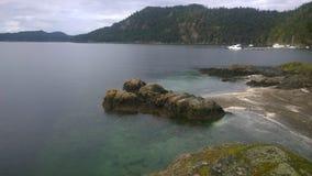 Dichter-Bucht auf Pender-Insel Lizenzfreie Stockbilder