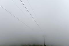 Dichter Schleier des Nebels Lizenzfreie Stockbilder