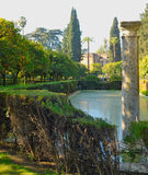 Dichtergärten stockfotografie