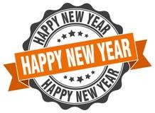 Dichtung des glücklichen neuen Jahres stempel vektor abbildung