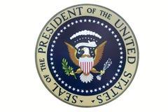 Dichtung des Präsident der Vereinigten Staaten stockfotos