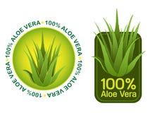 Dichtungen Aloevera-100% Stockfotos