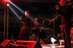 Diciannovesimo concerto di festival della gioventù di Aydilge Sarp On May Fotografie Stock