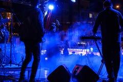 Diciannovesimo concerto di festival della gioventù di Aydilge Sarp On May Fotografia Stock