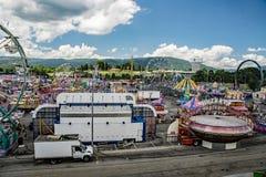 Diciassettesimo Salem Fair annuale Immagine Stock